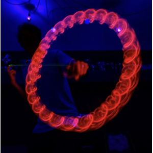 LED Spinstar Red light fra Yoyo Factory